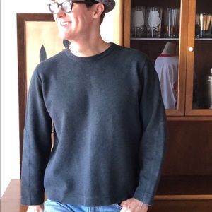 Men's Gray Hugo Boss Sweater Nice, Fall, Winter